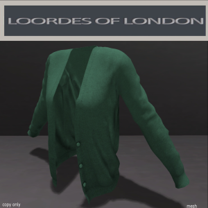 Loordes of London-Mission House Sweater-Green